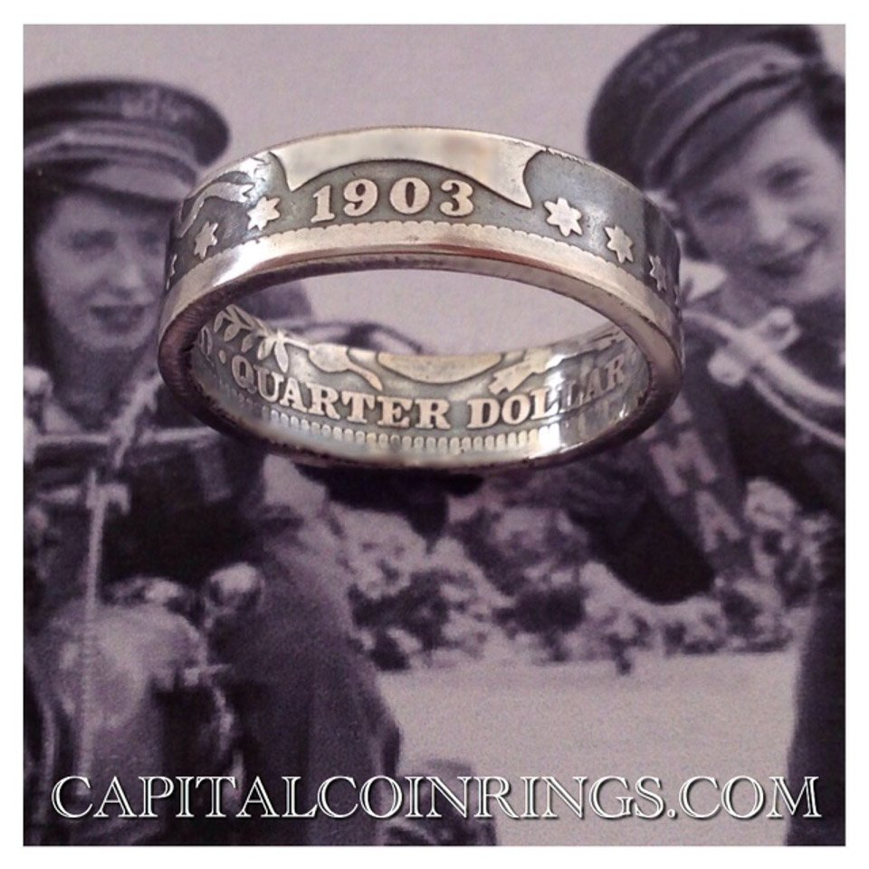Capital Coin Rings