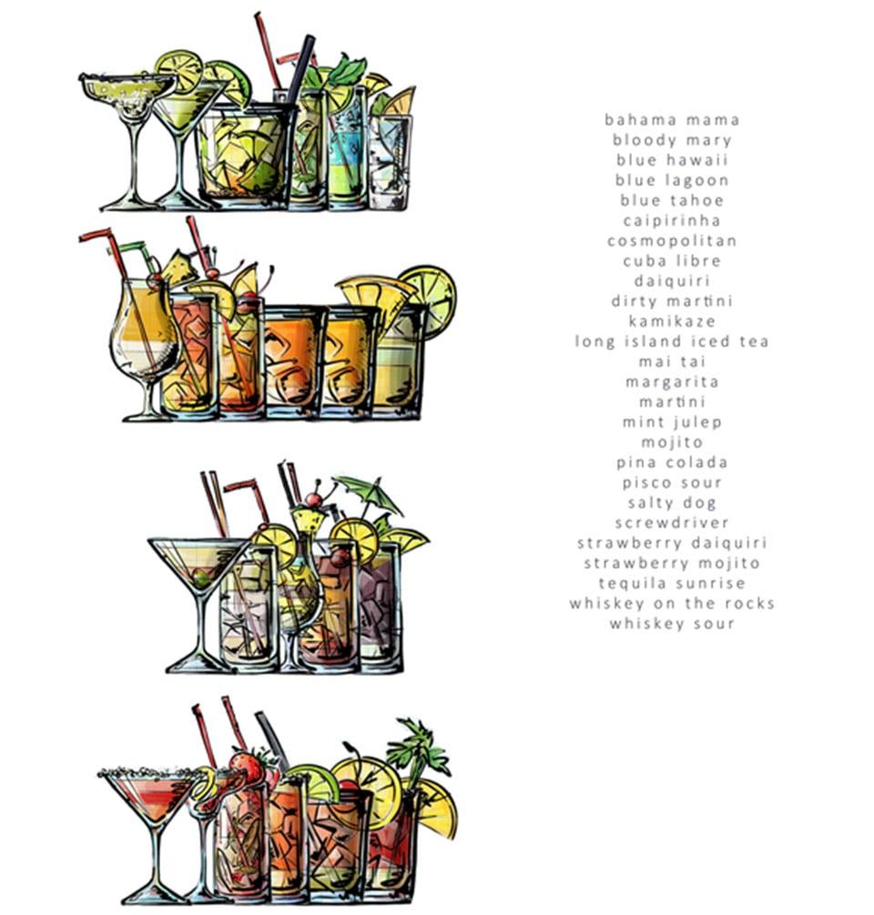 coloring book of booze - Hawaii Coloring Book