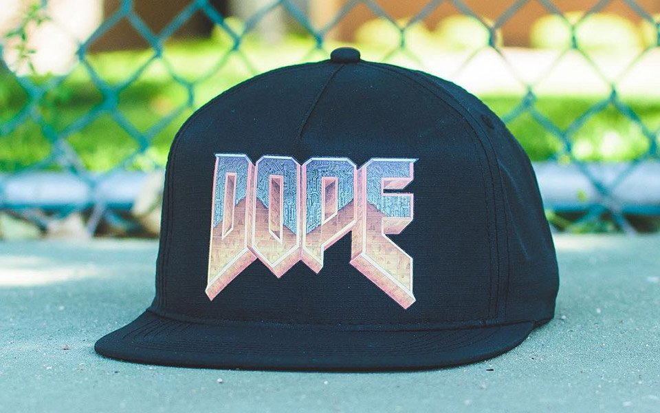 Dope x Hat Club DOOM Hat
