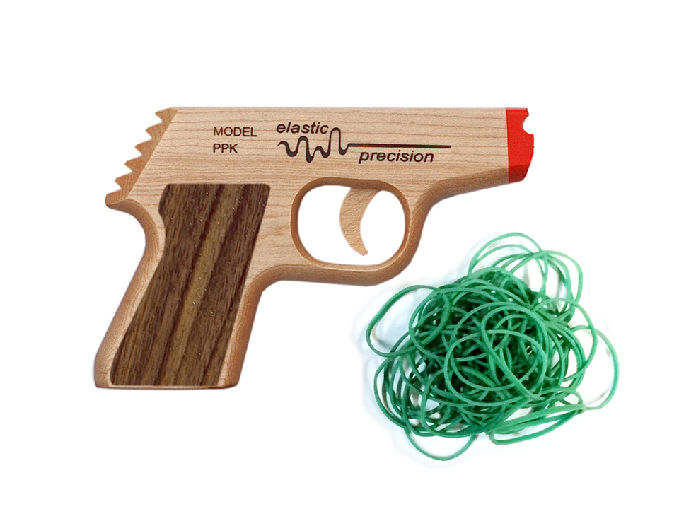 Elastic Precision Rubber Band Guns