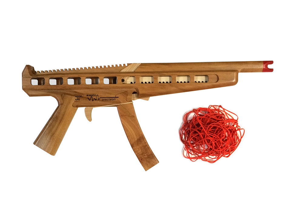 Elastic Precision Rubber Band Guns