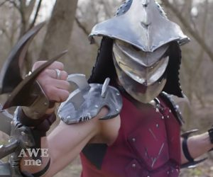 Forging Shredder's Helmet & Blades