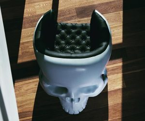 Gregory Besson Skull Armchair
