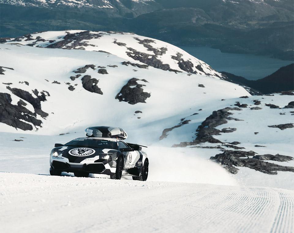 Lambos Love Glaciers
