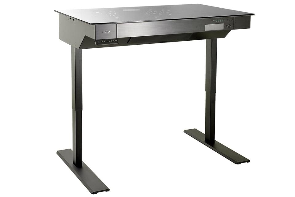 Lian Li DK-04 Standing Desk PC Case