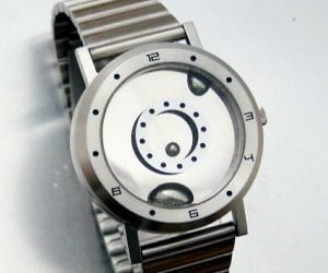 Liquid Metal Watch