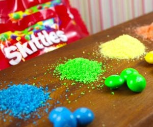 Making Sugar from Skittles