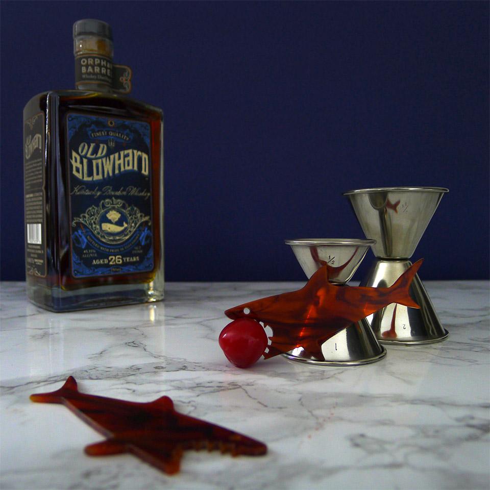 Mako Shark Cocktail Picks