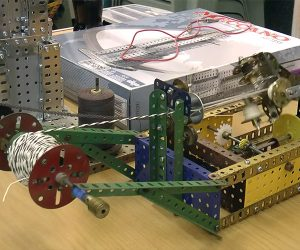 Meccano Rope Machine