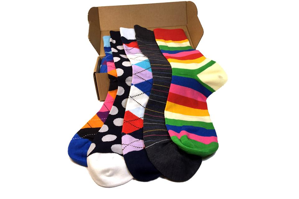 Deal: Modern Motif Socks