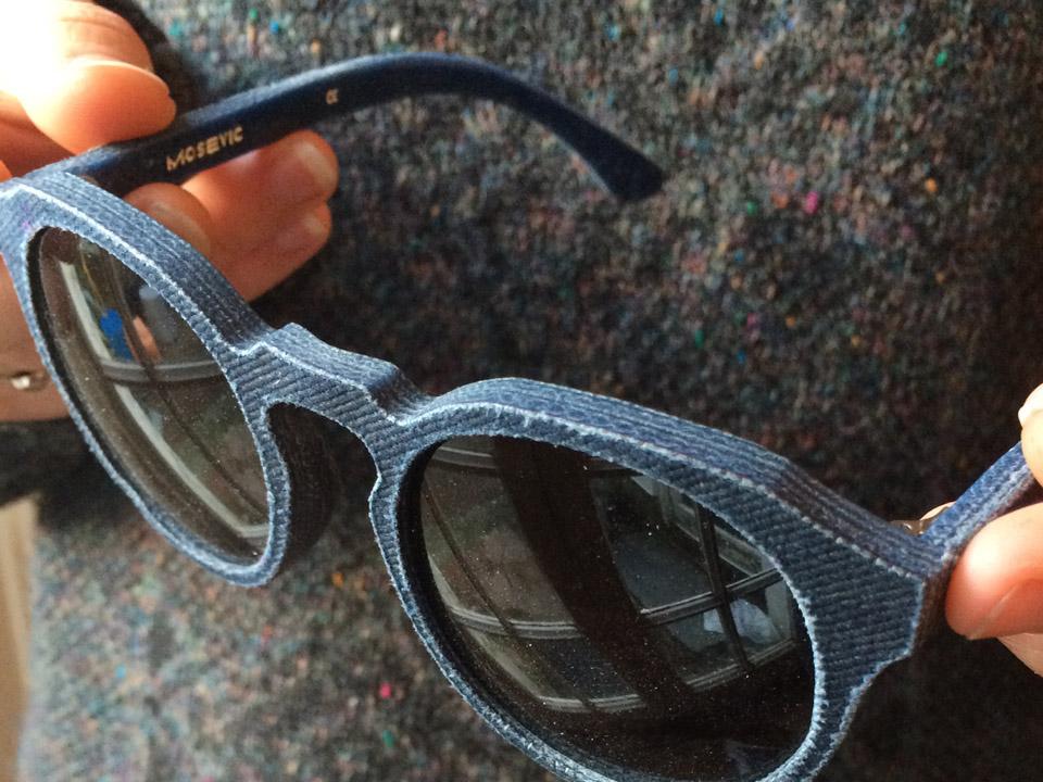Mosevic Solid Denim Eyewear