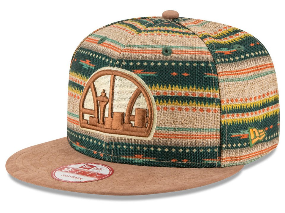 New Era Natural Print NBA 9Fifty