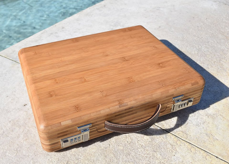 Companion Bamboo Briefcase