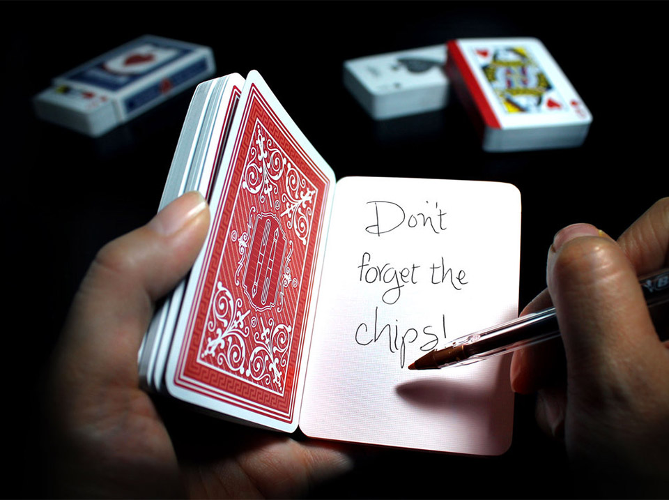 Playing Card Notebook