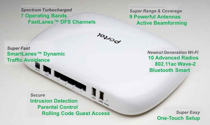 Portal Wi-Fi Router