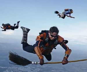 Quidditch Skydiving