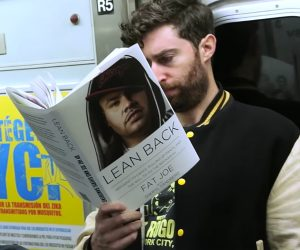 Reading Fake Books on the Subway 2