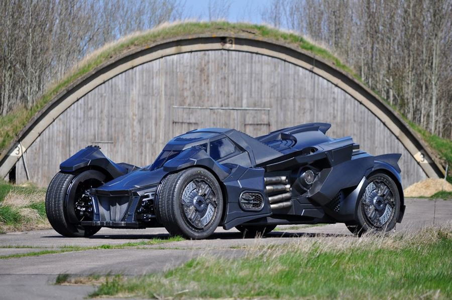 Real Life Arkham Knight Batmobile