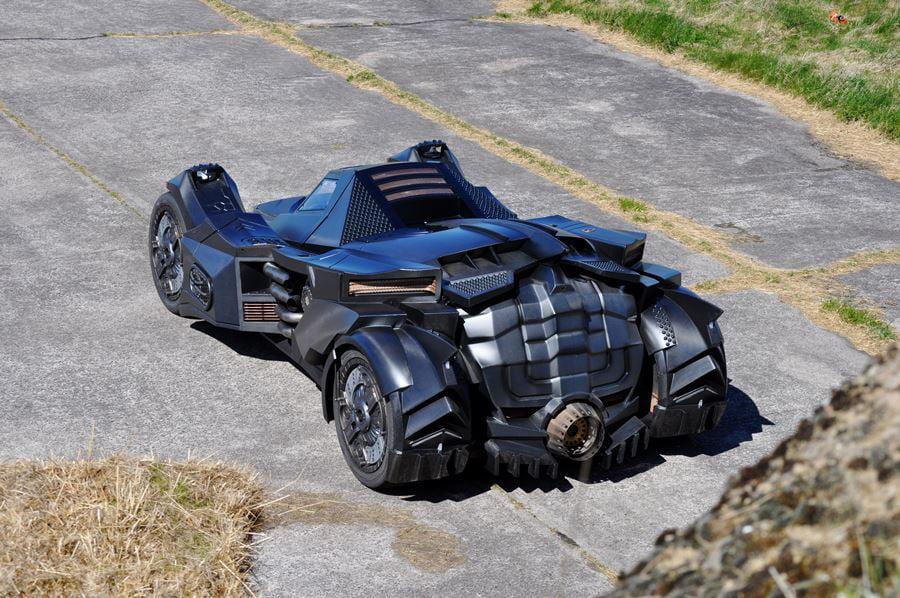 Real Life Arkham Knight Batmobile