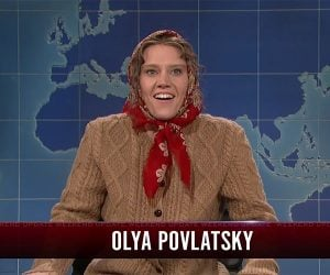 SNL: Russian Woman Talks Trump
