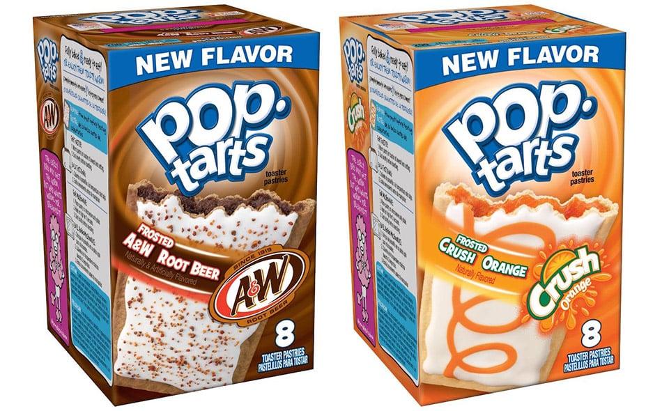 Soda Flavored Pop-Tarts