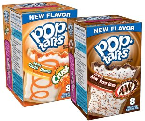 Soda Flavored Pop-Tarts