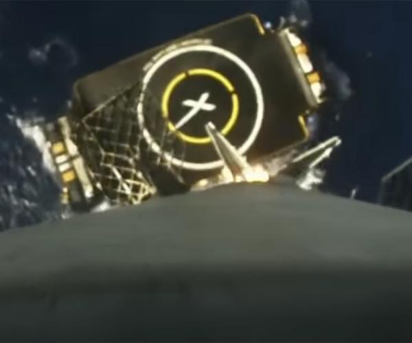 SpaceX Falcon 9 POV Ocean Landing