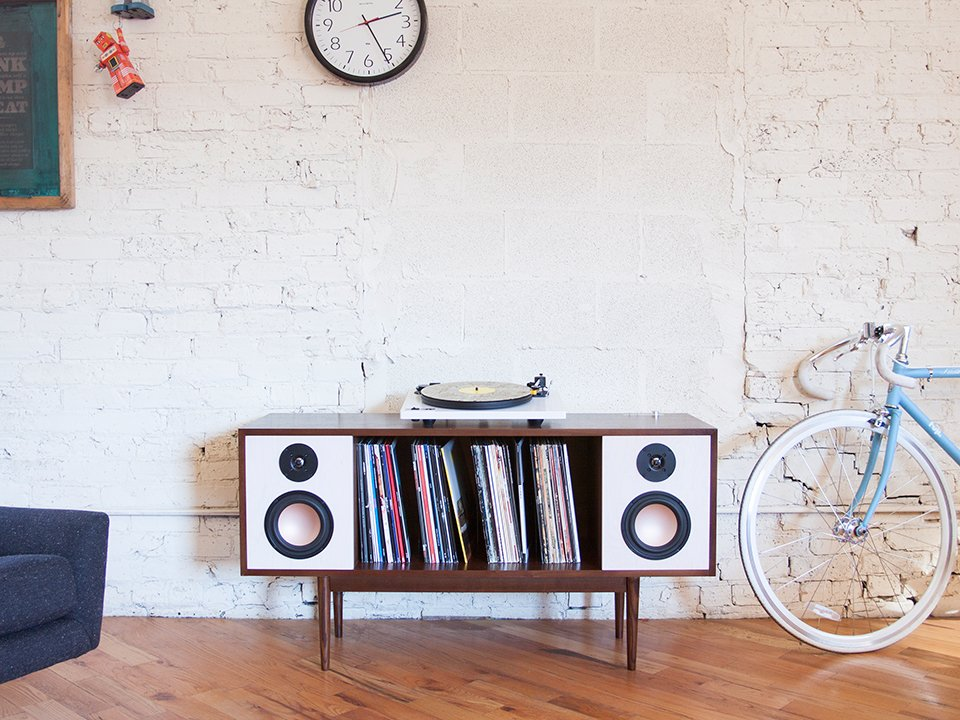 The Modern HiFi Stereo Console