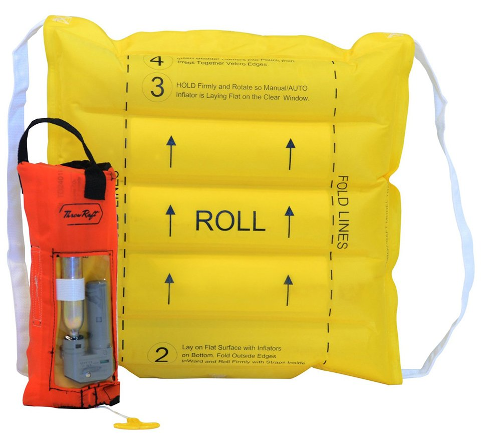 ThrowRaft TD2401 Flotation Device