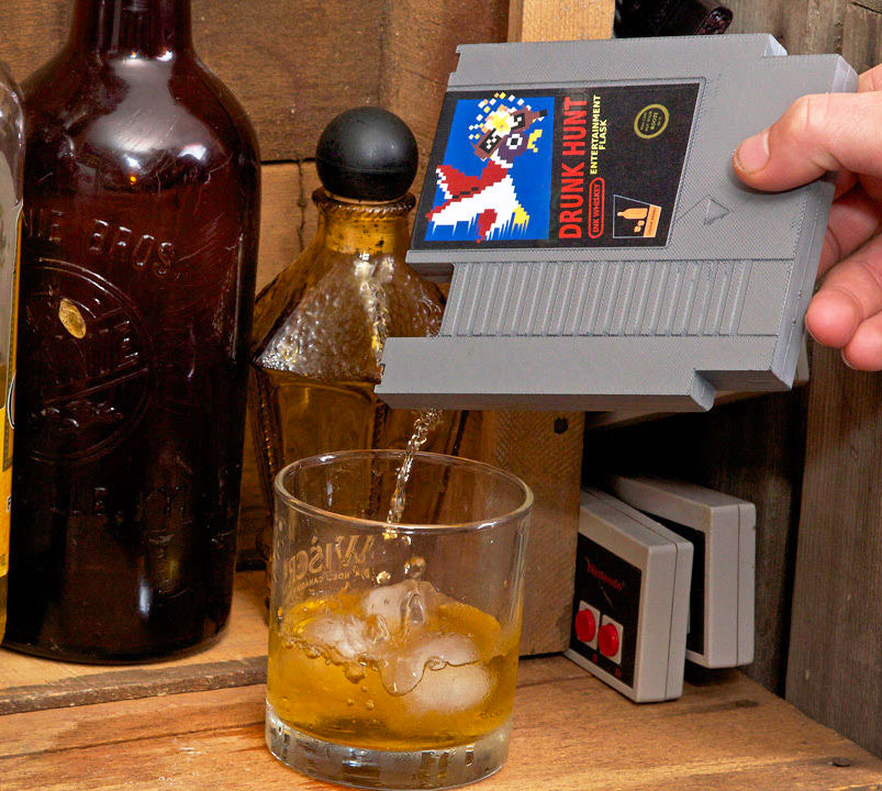 Deal: Video Game Cartridge Flask