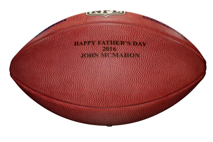 Wilson Custom Footballs