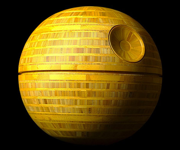 Making a Wooden Death Star