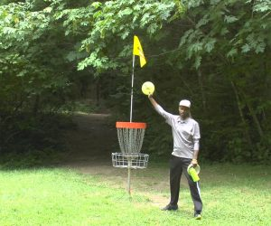 850ft. Disc Golf Hole-in-One