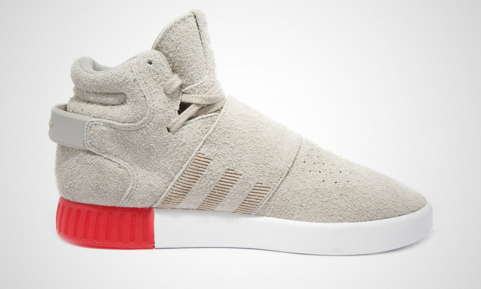 Red Tubular Invader Strap Shoes adidas US