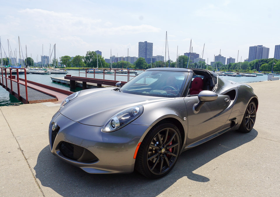 Up Close: Alfa Romeo 4C Spider