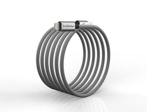 Deal: Steel iOS Charging Cable