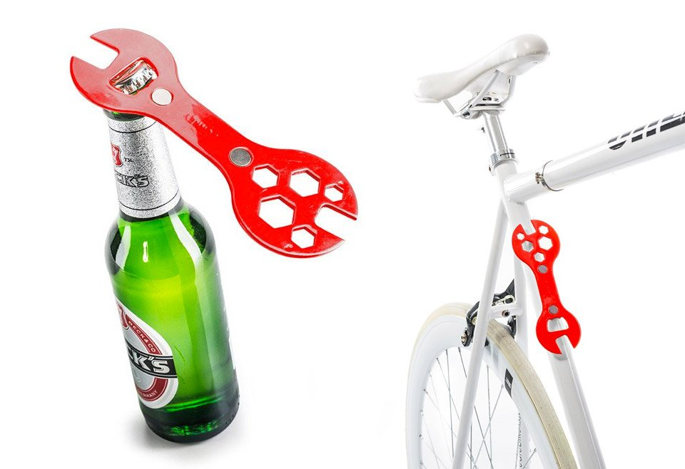 Bike Wrench Bottle Opener
