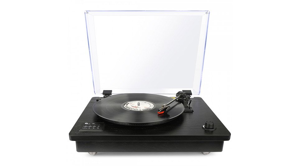 Deal: Belt-drive Bluetooth Turntable
