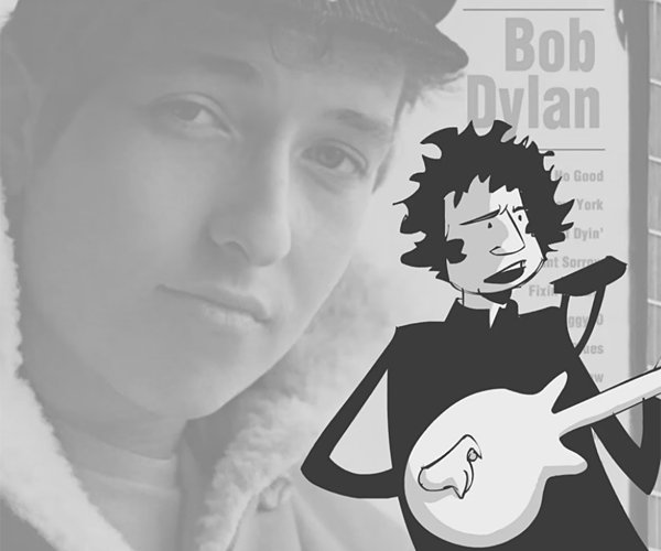 Bob Dylan at 20