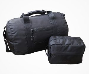 Deal: Bomber Barrel Duffel Set