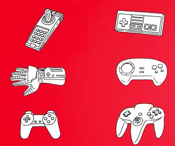 A Brief History of Game Controllers