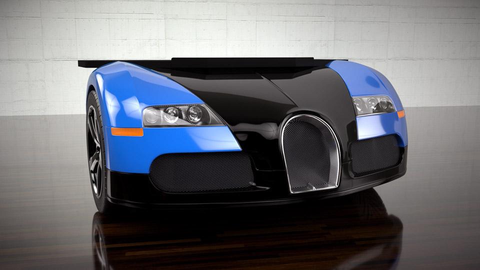 Lamborghini & Bugatti Desks