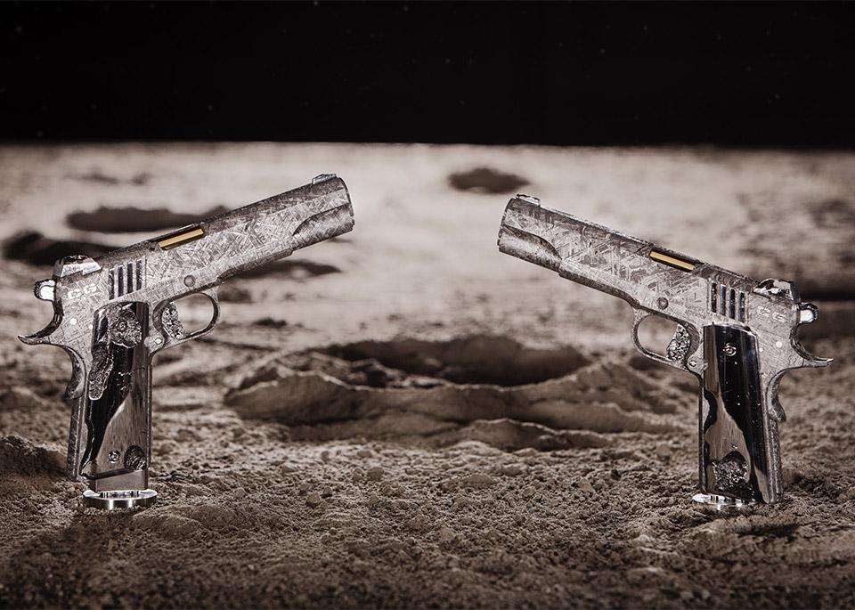 Big Bang Meteorite Pistols