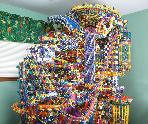 Citadel K'NEX Ball Machine