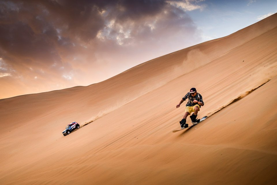 Dune Shredding