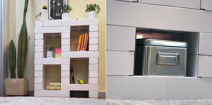 Edo Cardboard Building Blocks