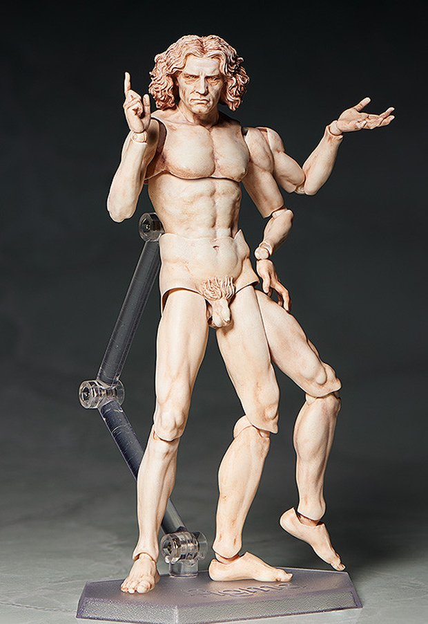 Vitruvian Man Action Figure