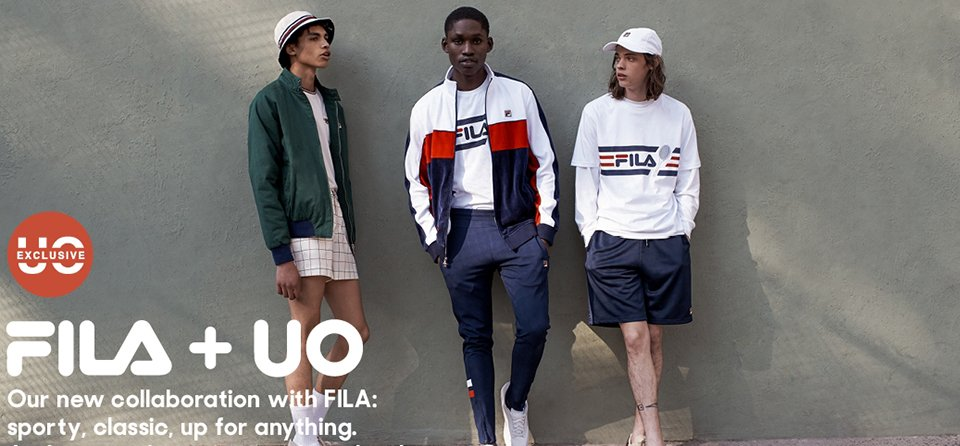 FILA x Urban Outfitters