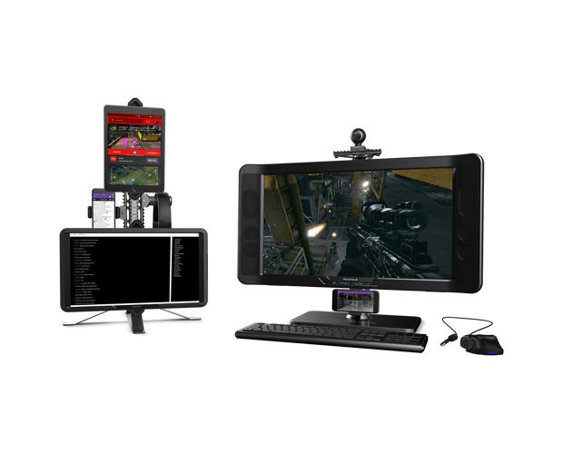 GAEMS Rail System Monitor Stand