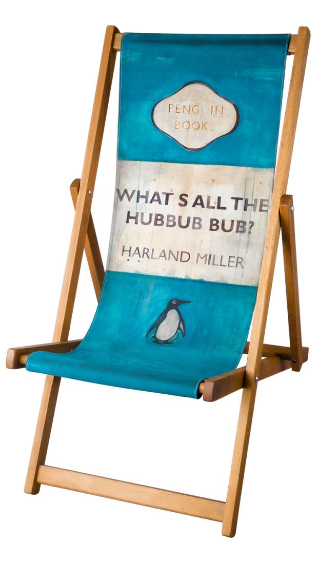 Harland Miller Deckchairs